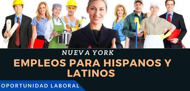 Trabajos para latinos en New York