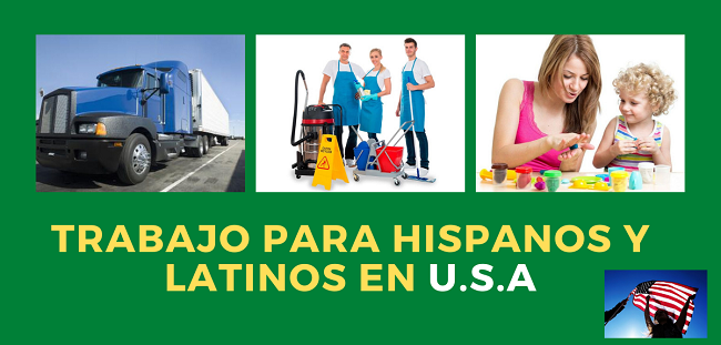 Trabajos para latinos en usa