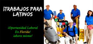 Trabajos para latinos en Florida