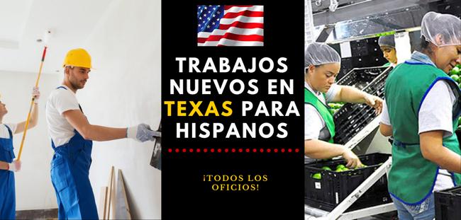 Trabajos para latinos en Texas