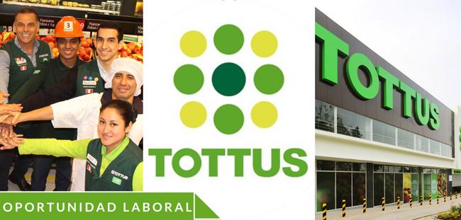 Trabajos en Tottus